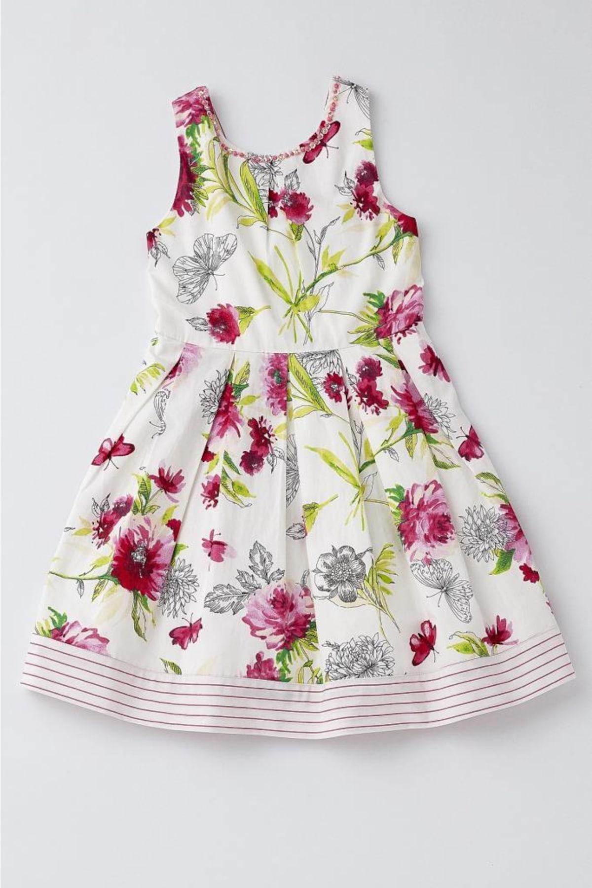 Kız Çocuk Elbise ve Jile Modelleri