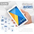 Dark EvoPad 3G M7440 3G SIM Girişli 1.3GHz Dört Çekirdekli Tablet