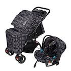 Pierre Cardin PS-409 Aloin Travel Sistem Bebek Çocuk Arabası Siya
