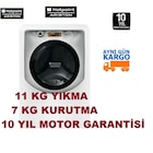 Hotpoint Ariston AQD1171D 49ID 11KG A+ Kurutmalı Çamaşır Makinesi