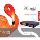 ATLANTA HD BOX SHINE Full HD Uydu Tivibu D-Smart ve Filbox Desteğ