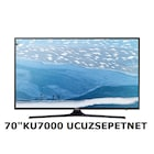 Samsung 70KU7000 4K UHD TV, Smart (Tizen) , UYDU Wifi