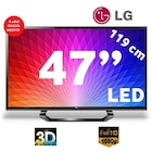 "LG 47LM615S 47"" 200HZ UYDU ALICILI USBMOVIE 3D LED TV"