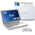 "Sony Vaio VPC-SB3L9E/W Intel Core i3 2330M 2.2GHZ 4GB 500GB 13.3"""