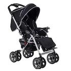Beneto BT-2020 Hummer Çift Yönlü Bebek Arabası Siyah