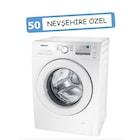 Samsung WF90F5E0W2W A+++ 9KG ECO BUBBLE Çamaşır Makinası