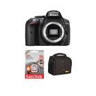 Nikon D5300 Body + Hafıza Kartı + Çanta