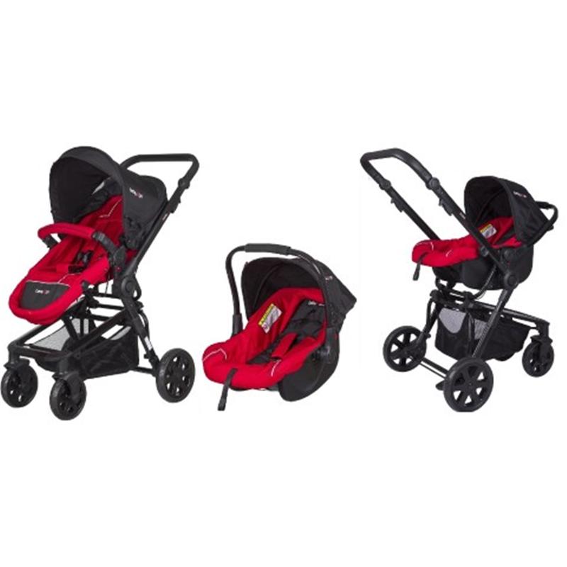 Baby2go 8841 Extreme Travel Sistem Bebek Arabası Kırmızı (2015 Mo