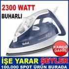 ÜCRETSİZ KARGO İLE TEFAL SUPERGLİSS FV3840 BUHARLI ÜTÜ 2300 WATT
