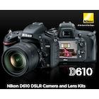 Nikon D610 Body DSLR Fotoğraf Makinesi
