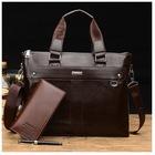 Men's Genuine Leather Handbag Briefcase