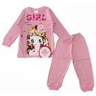 Kidsmadamiko 7743 Kız Bebek Pijama Takımı 1-3 Yaş Pembe