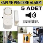 kapı pencere alarmı güvenlik sistemi yüksek ses adetli set bj037