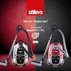 stilevs vacuum cleaner soundless elektrikli süpürge hediyeli