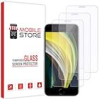 [3 Adet] mobile store Glass iPhone SE 2020 Uyumlu Ekran Koruyucu