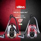 stilevs vacuum cleaner soundless elektrikli süpürge kampanyali