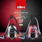 stilevs vacuum cleaner soundless elektrikli süpürge