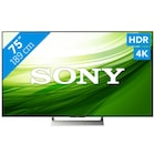 sony kd-75xe9005 189 ekran 4k hdr x1 full led tv