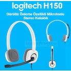 Logitech H150 Mikrofonlu Kulaklık/Beyaz 981-000350