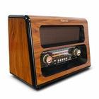 Nostaljik Antika Görünümlü Radyo Büyük Boy FM/BT/USB