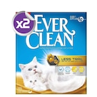 Ever Clean Less Trail / Patilere Yapışmayan Kedi Kumu 10 Lt x2 AD