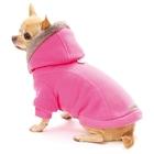 croci köpek elbisesi sweatshirt strawberry