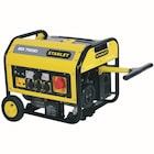 stanley sg7500 7.5 kwa benzinli jeneratör jeneratör