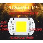 30W-50W-70W-100W  220V PROJEKTÖR SMD POWER COB LED ÇİP BEYAZ