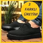 Chekich Siyah Erkek Klasik Ayakkabı-Süet Günlük Yüksek Taban 001