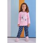 RolyPoly Magique Kız Çocuk Pijama Takımı Açık Pembe