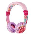 PC LAPTOP Gamer ÇİÇEK Desenli Kulaklık Kız Çocuklar için uygun TR