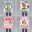 Doğum Günü Afişleri 1 Yaş Afiş Bebek Afiş Parti Afişleri