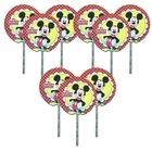 Mickey Mouse 20 adet Sunum Kürdanı Doğum Günü Parti Kürdan Ucuz
