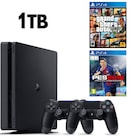 SONY PS4 SLİM 1TB OYUN KONSOLU + 2. KOL + PS4 GTA 5 + PS4 PES 18