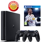 SONY PS4 SLİM 500GB EURASİA KONSOL + 2. PS4 KOL + PS4 FİFA 18 TR