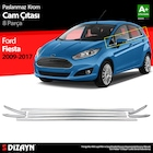 S-Dizayn Ford Fiesta Krom Cam Çıtası 8 Prç 2009-2017