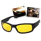 Anti Far Antifar Güneş Gece Görüş Gözlüğü Sürüş Sis Spor Sarı