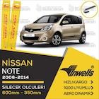 İNWELLS Nissan Note 2006 - 2014 Ön Muz Silecek Takımı