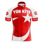 LEO / TÜRKİYE BEYAZ Kısa Kollu Bisiklet Forması