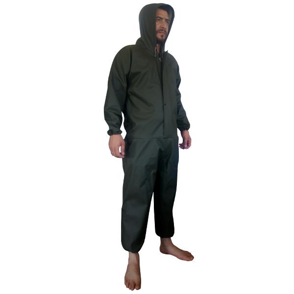 Kapşonlu Çizmesiz Boy Tulum  XL