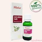balen saf çay ağacı yağı aromaterapi bitki yağları
