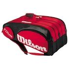 wilson squash çantası tour squash bag red