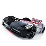 Arabalı Yatak - Siyah-  Süper Ferrari