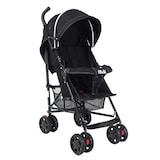 Tam Yatar Baston Bebek Arabası Puseti Siyah Renk