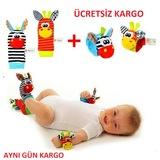 Sozzy Toys CMMR038 Orijinal Çıngıraklı Bebek Bileklik ve Çorabı