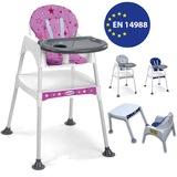 MiniMisi Mama Sandalyesi Çalışma Masalı Konforlu Minderli Lüx Kıl