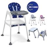 MiniMisi Mama Sandalyesi Çalışma Masalı Konforlu Minderli Lüx