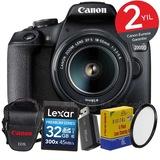 Canon EOS 2000d 18-55mm 24.1mp Wi-Fi® DSLR Fotoğraf Makinesi