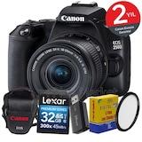 Canon EOS 250d 18-55mm IS STM WiFi® DSLR Fotoğraf Makinesi