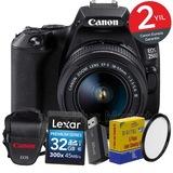 Canon EOS 250d 18-55mm WiFi® DSLR Fotoğraf Makinesi